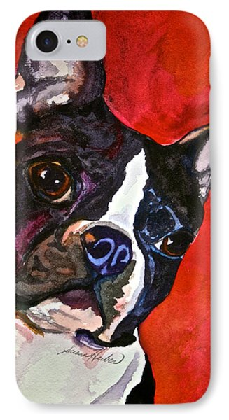 Red Rascal IPhone Case by Susan Herber