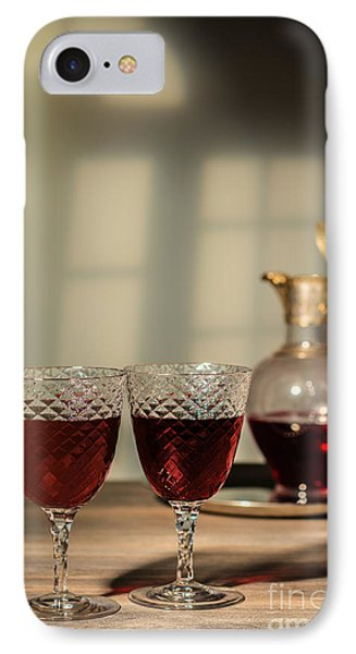 Red Red Wine IPhone Case by Amanda Elwell