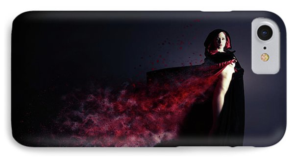 Red Riding Hood IPhone Case by Nichola Denny