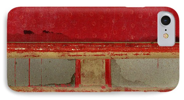 Red Riley Collage Square 2 IPhone Case