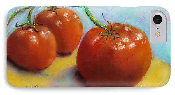 Red Ripe And Ready IPhone Case by Laurie Morgan