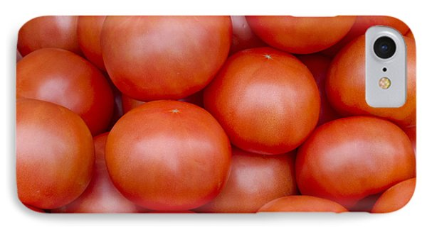 Red Ripe Tomatoes Phone Case by John Trax