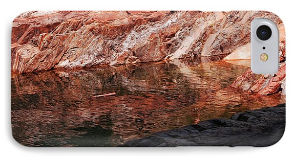 Red River IPhone Case by Donna Blackhall