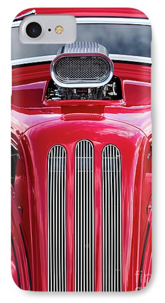 IPhone Case featuring the photograph Red Roadster by Tim Gainey