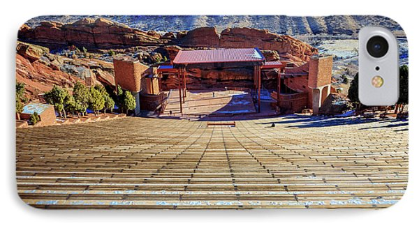 Red Rock Amphitheater Phone Case by Barry Jones