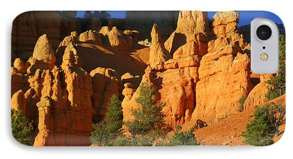 Red Rock Canoyon At Sunset Phone Case by Marty Koch