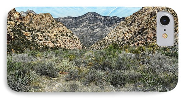 IPhone Case featuring the photograph Red Rock Canyon - Nevada by Glenn McCarthy Art and Photography