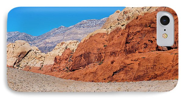 Red Rock Canyon Phone Case by Rae Tucker