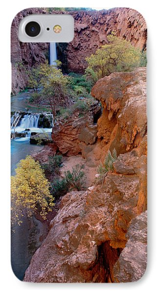 Red Rock Cliffs, Havasu Falls, Grand IPhone Case by Panoramic Images