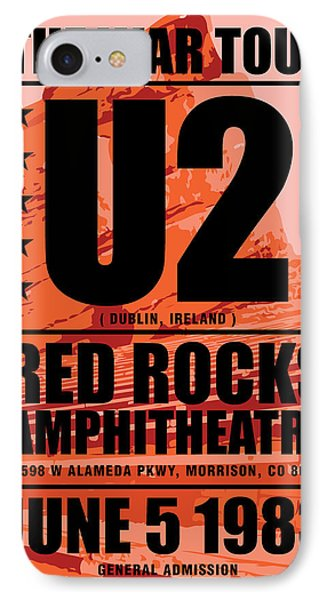 Red Rock Concert IPhone Case