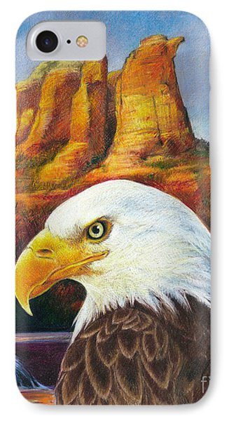 Red Rock Country IPhone Case by Ken Ottinger