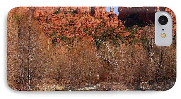 Red Rock Crossing Sedona Arizona IPhone Case by Marilyn Smith