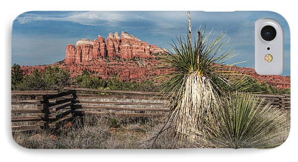 IPhone Case featuring the photograph Red Rock Formation In Sedona Arizona by Randall Nyhof