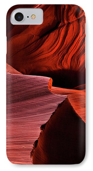 Red Rock Inferno IPhone Case by Mike  Dawson