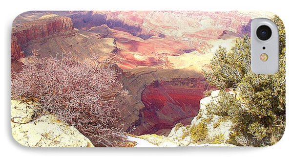 Red Rock IPhone Case by Marna Edwards Flavell