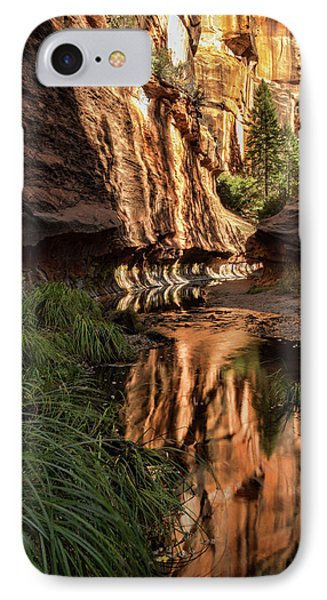 Red Rock Reflections  IPhone Case by Saija Lehtonen