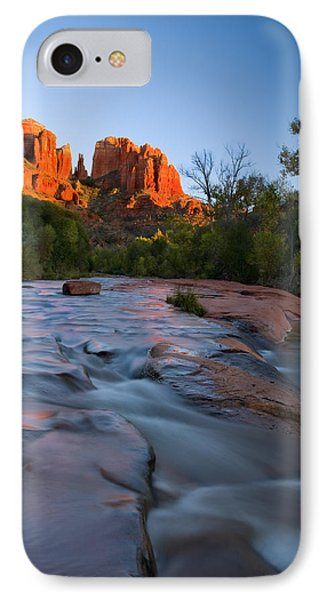 Red Rock Sunset Phone Case by Mike  Dawson
