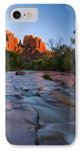 Red Rock Sunset IPhone Case by Mike  Dawson