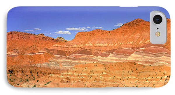 Red Rocks At Old Movie Set, Vermillion IPhone Case by Panoramic Images