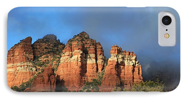 Red Rocks Of Sedona IPhone Case by Donna Kennedy