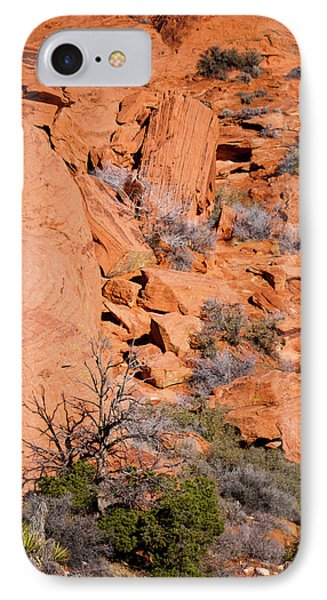 Red Rocks Phone Case by Rae Tucker
