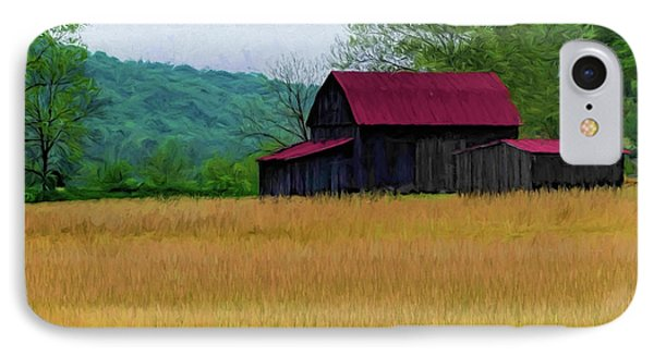 Red Roof Barn IPhone Case