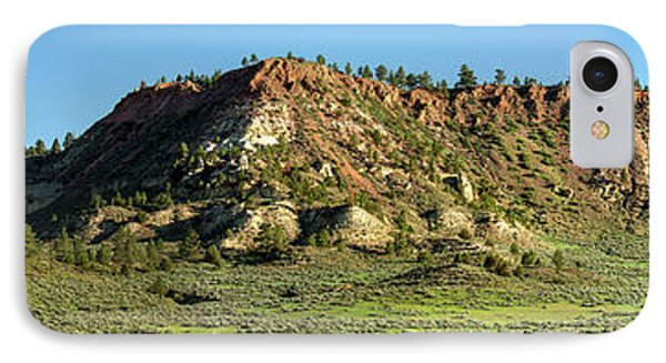 Red Roof Butte IPhone Case by Todd Klassy