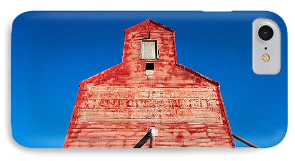 Red Roof IPhone Case by Todd Klassy