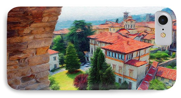 Red Roofs Phone Case by Jeff Kolker