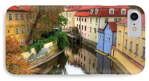 Red Roofs Of Prague Phone Case by Jay Lee