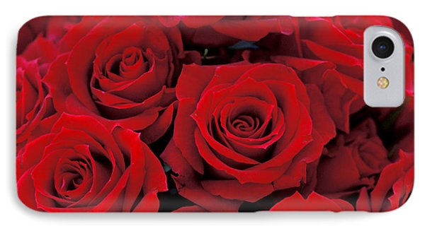 Red Rose Bouquet Phone Case by Kathy Yates