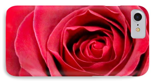 IPhone Case featuring the photograph Red Rose by DJ Florek