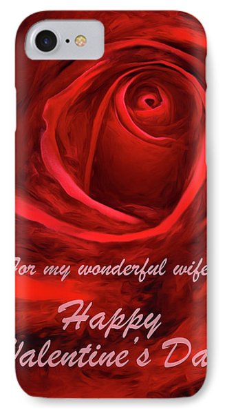 Red Rose II IPhone Case