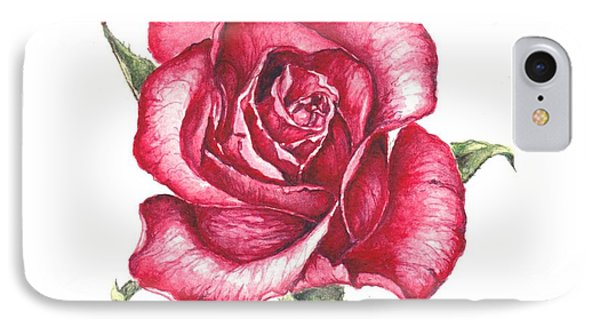Red Rose IPhone Case by Heidi Kriel