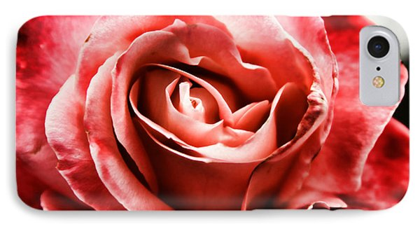 IPhone Case featuring the photograph Red Rose  by Mariola Bitner