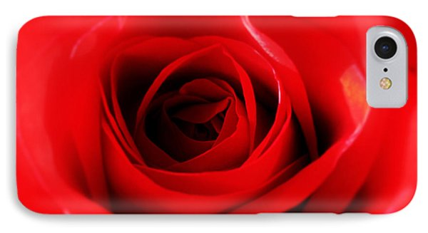 Red Rose Phone Case by Nina Ficur Feenan