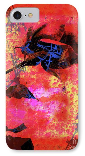 Red Rose Phone Case by Robert Ball