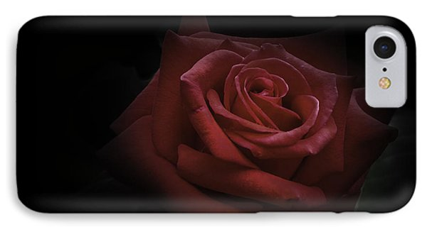 IPhone Case featuring the photograph Red Rose by Ryan Photography