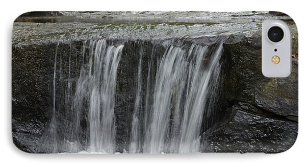 Red Run Waterfall IPhone Case by Randy Bodkins