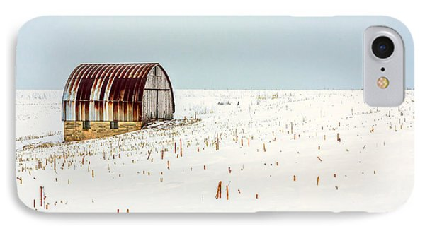 Red, Rusty Roof IPhone Case by Todd Klassy