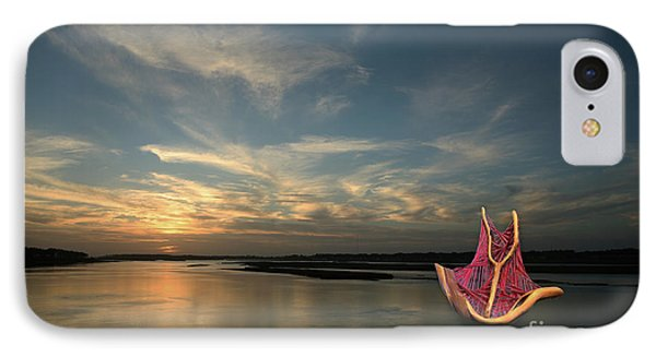 IPhone Case featuring the photograph Red Sails In The Sunset by Carol Lynn Coronios