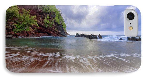 Pacific Ocean iPhone 7 Case - Red Sand by Chad Dutson