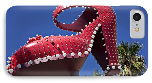 Red Shoe High Heels IPhone Case by Garry Gay