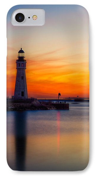 Red Skies At Night IPhone Case