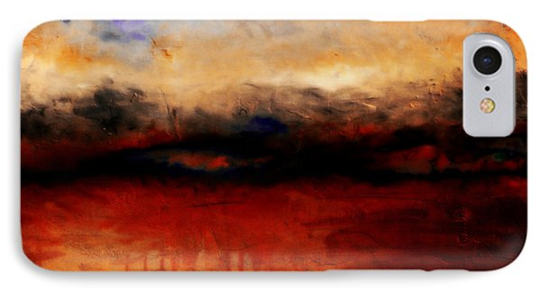 Red Skies At Night Phone Case by Michelle Calkins