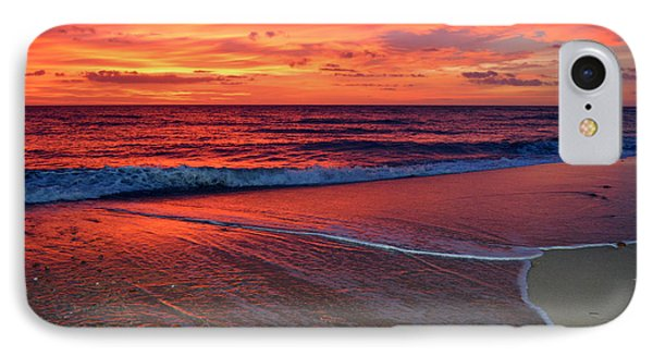 Red Sky In Morning IPhone Case