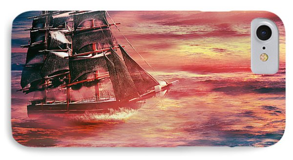 Red Sky In The Morning.... Sailors Take Warning IPhone Case
