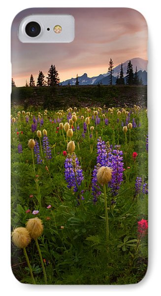 Red Sky Meadow IPhone Case