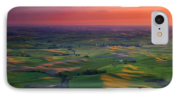 Red Sky Palouse IPhone Case