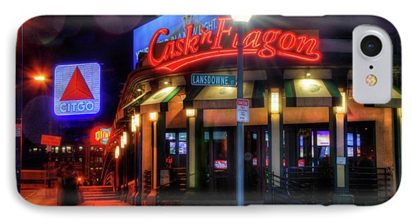 Red Sox Art - Cask N Flagon - Citgo Sign IPhone Case
